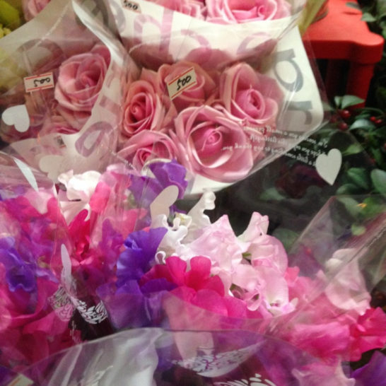 ピンクの花は他にもいっぱいある