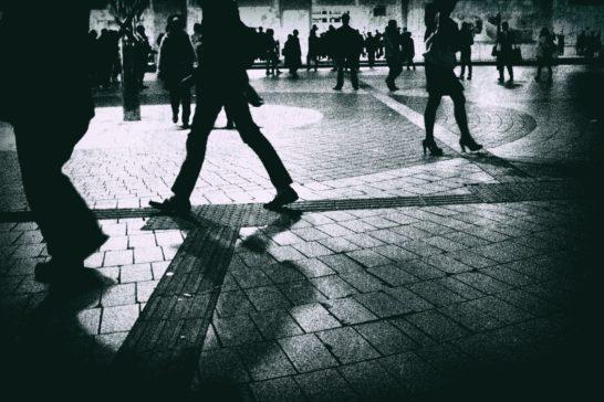 足跡を辿れ