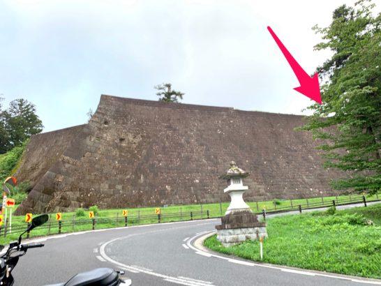08北壁石垣