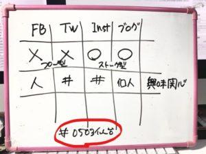 例えば、#0503仙台